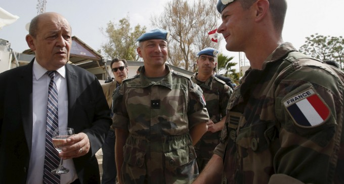 French defense chief to ask Russia to step up anti-ISIS ops.