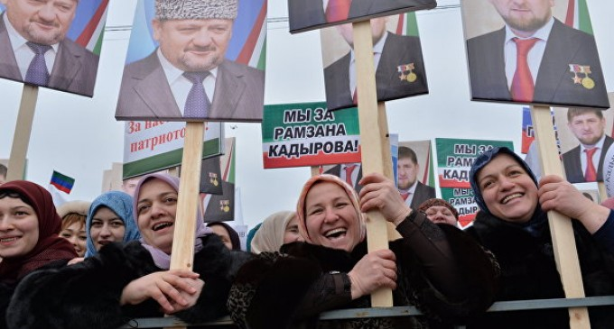 A million people have supported the head of the Chechen republic Ramzan Kadyrov