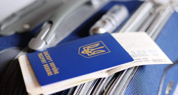 The Ukrainians are complaining of serious difficulties while obtaining visas to Europe