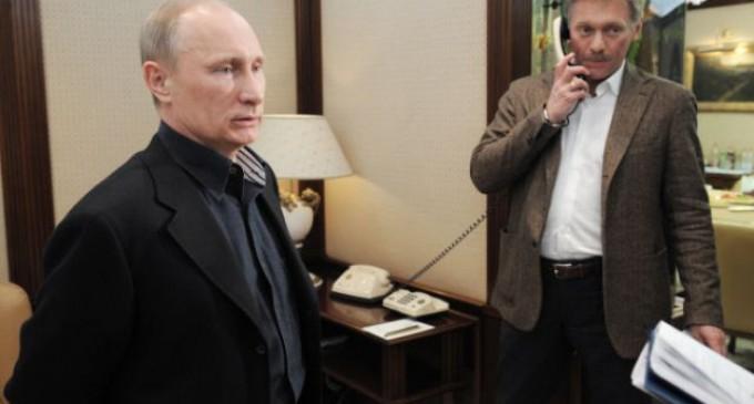 Peskov: USA charges against Putin are slander