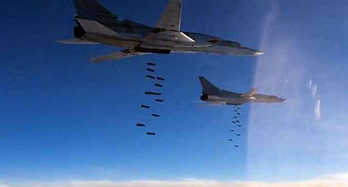 Russian military destroyed 1354 infrastructure objects of Daish