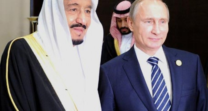 Putin explained to the king of Saudi Arabia the meaning of the agreement on Syria