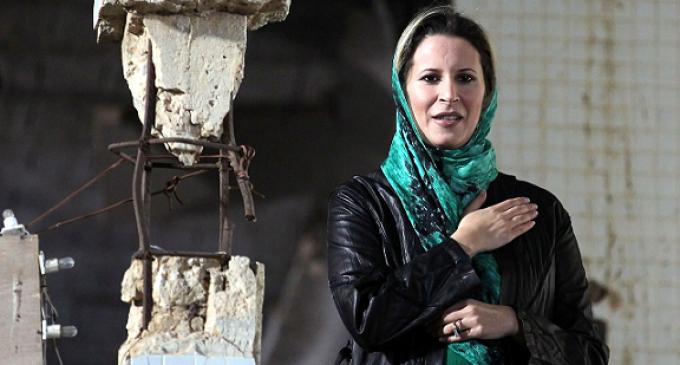 Aisha Gaddafi takes on leadership of resistance