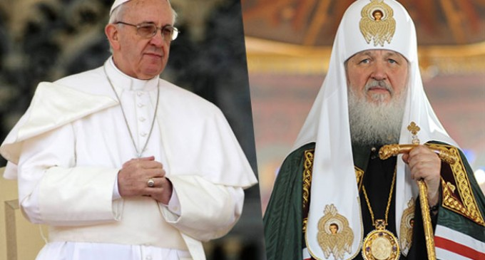 "Russian State Duma called the meeting of the Patriarch and the Pope ""an epoch-making event""."