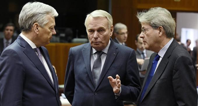 В Евросоюзе приняли пять принципов построения отношения с Россией