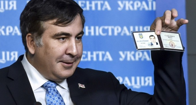Ukrainian citizens have collected 30,000 signatures for the resignation of Saakashvili from the post of Odessa governor