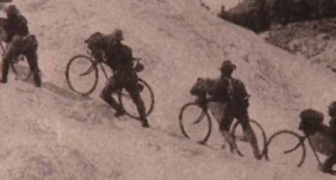 The black soldiers who biked 2,000 miles over the mountains and out of American history