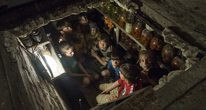Children asked Hillary Clinton and Donald Trump to tell their friends in Kiev to stop bombing Lugansk