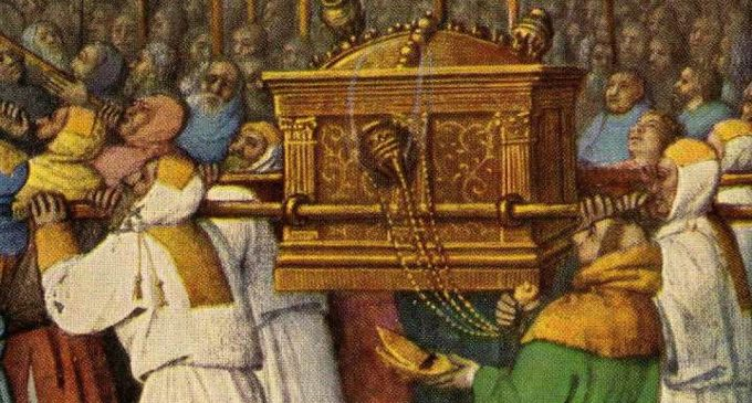 Ковчег Завета спрятан где-то под Калининградом?