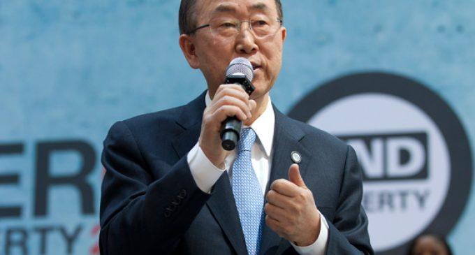 UN Secretary General Ban Ki-moon admires Putin, infuriates Kiev