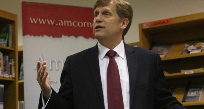 Michael McFaul congratulates Putin on Brexit results