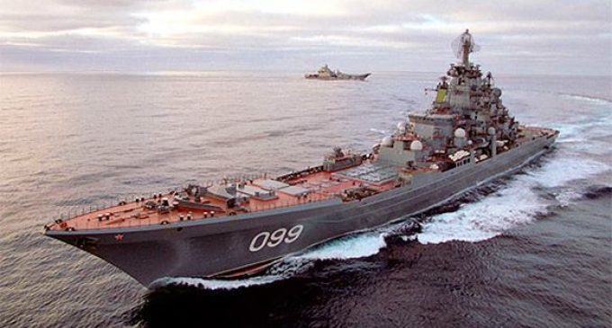 Russia to build eight nuclear cruisers for sea control