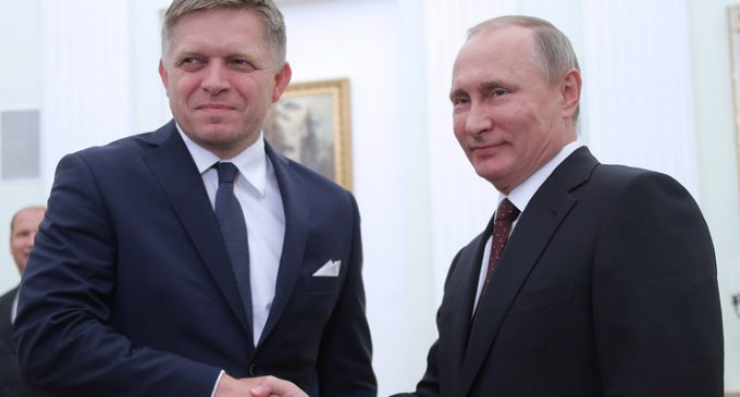 Slovak Prime Minister advocated the lifting of sanctions against Russia
