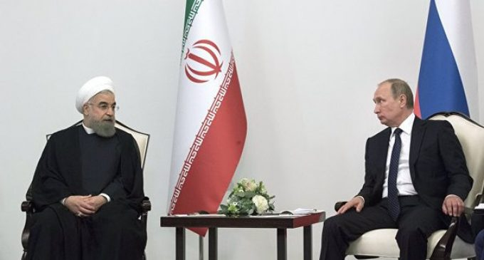 Rouhani sees potential for cooperation with Russia