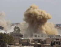 The positions of ISIS in Syria are under attack of Russian aerospace forces based in Iran