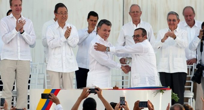 Гражданская война в Колумбии закончилась