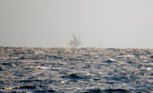 Странный объект заснят на озере входящем в систему Великих Озер в США