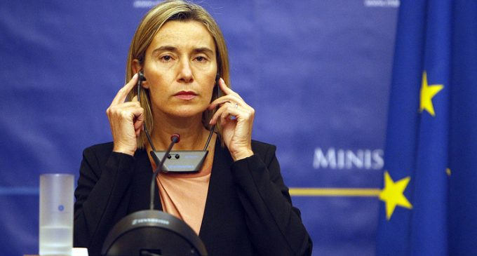 Mogherini says no EU member state proposed sanctions on Russia over Syria