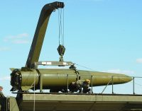 Crews of Iskander-M tactical missile systems practice strikes in west Russia