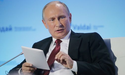 Putin is sure Russia and Ukraine will find way to end crisis