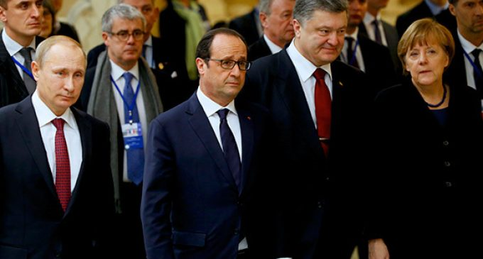 Putin, Poroshenko, Hollande and Merkel to hold meeting in Berlin