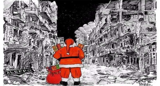 Letters from Syrian children to Santa Claus