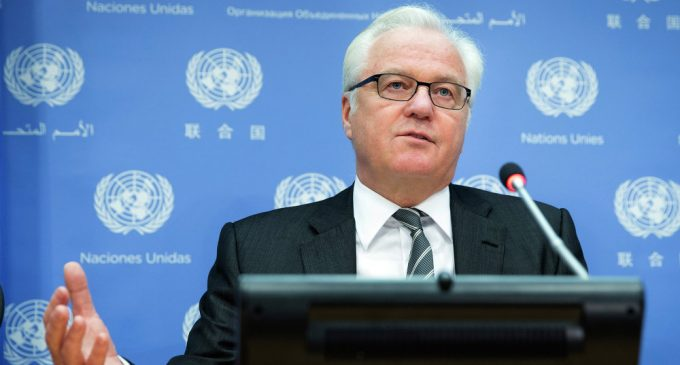 Shaking Hands With Churkin Worth 'More Than Any Document' – Italian Ambassador