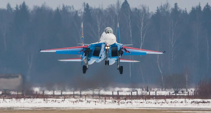 Russian Knights Aerobatic Team to Fly New Su-30SMs at LIMA'17 Air Show