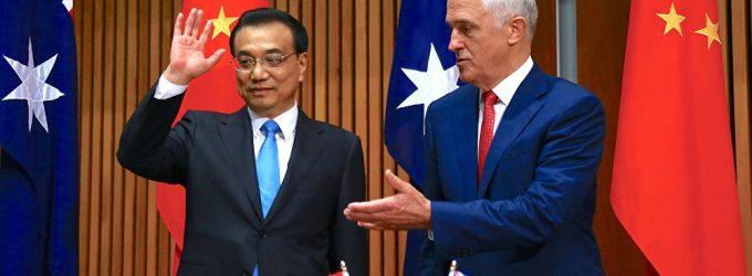 China, Australia to Promote Free Trade Despite Existing Problems