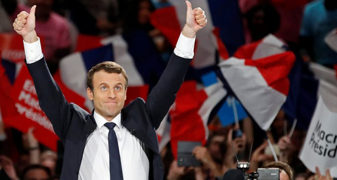 French Centrists Herald Macron's Election Victory, Le Pen Rallies 'Patriots'