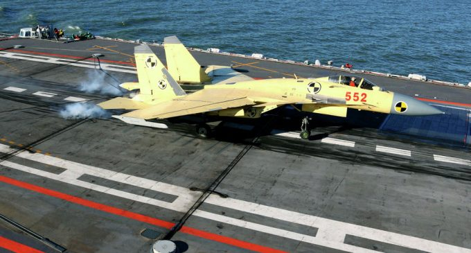 China Reveals How Many Fighter Jets the New Aircraft Carrier Can Dock