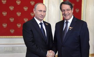 Cyprus President Thankful to Russia, Putin for Consistent Cyprus Issue Support