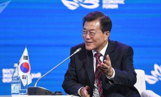 S Korean President Offered Russia to Build 'Nine Bridges' of Cooperation