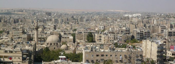 Aleppo shelling