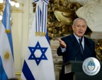 What is Israël's project in Argentina?