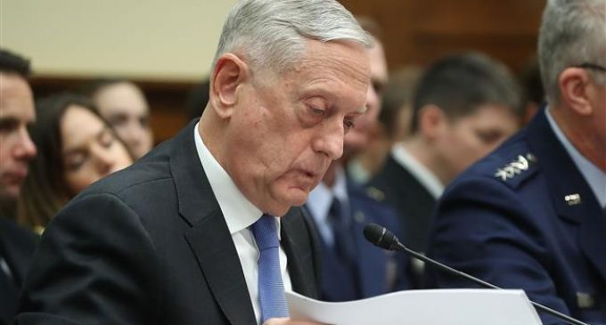 Mattis says N Korea cannot drive wedge between US, S Korea