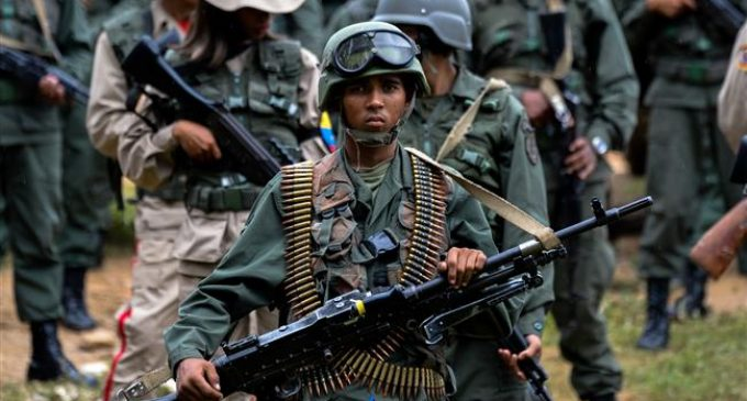 18 killed as Venezuela army takes control of wildcat mine
