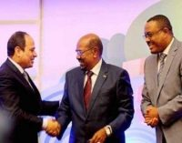 The Egypt/Sudan/Eritrea/Ethiopia crisis