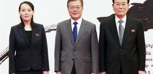 North Korean leader praises South Korea's hospitality, urges more dialog