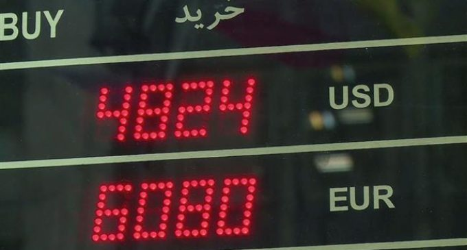 Dollar rate hits all-time high against Iran's rial