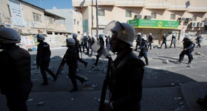Bahraini forces clash with anti-regime protesters marking uprising anniversary