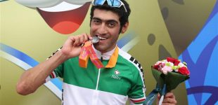 Iranian cyclist pockets silver in 2018 Asian Track Cycling Championships