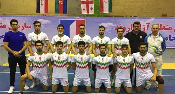 Iran men's national team top-ranked in 2018 Fajr Kabaddi Tournament