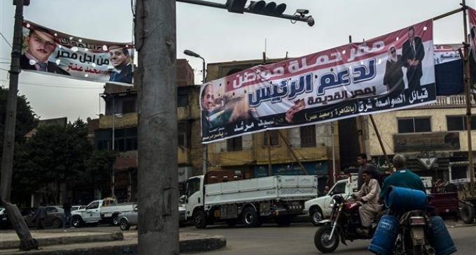 Campaigning begins in Egypt's presidential election