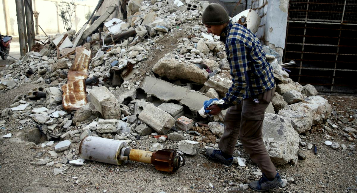 UN Feigns Outrage Over Ghouta While Terrorist Rockets Rain Down on Damascus