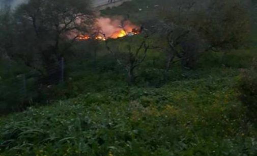 Israeli F-16 fighter jet shot down by Syrian anti-aircraft fire amid IDF cross-border raid