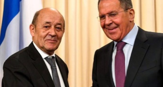 Jean-Yves Le Drian and Syria