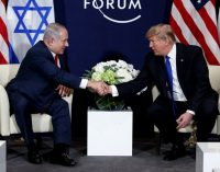 Bibi & Trump, Both Under Investigation, Meet on Phony 'Deal of the Century'