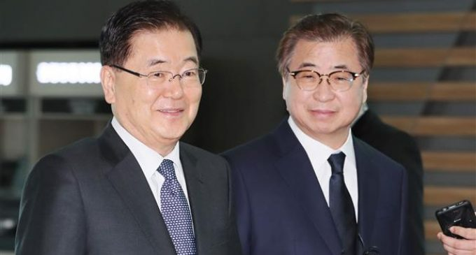 South Korea officials travel to US to brief Americans on North