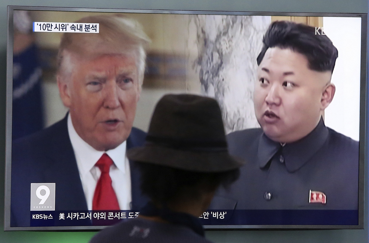Trump May Meet with North Korea's Leader Kim Jong-un by May